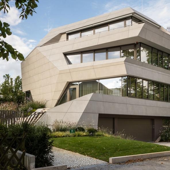 Villa M in Berlin – VidroStone High Tech Keramik-Fassade
