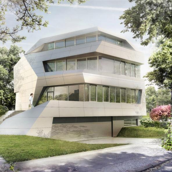 Villa in Berlin – VidroStone High Tech Keramik-Fassade